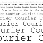 Courier is dead.  Long live Courier.