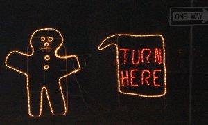 lights gingerbread