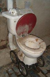 toilet on wheels