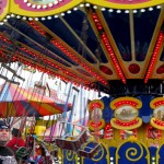 swings at the York Fair