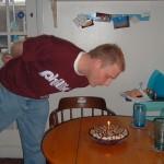 Eric's birthday, 2005