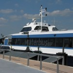 Ferry at Rotterdam