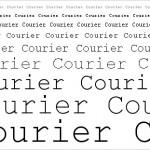 Courier is dead.  Long live Courier.