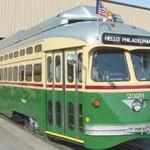 Girard Ave trolley