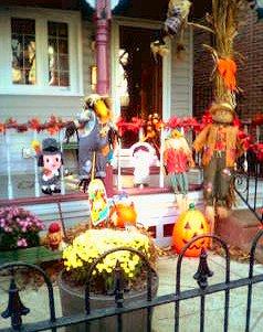 Fishtown Thanksgiving decorations