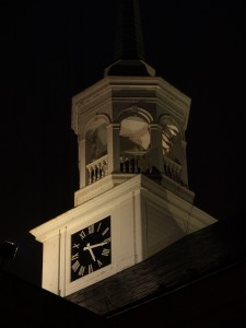Lititz Moravian Church steeple