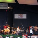 Angelique Kidjo at Long's Park