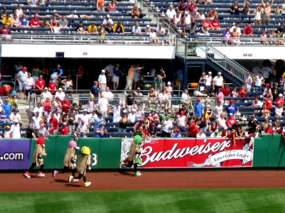 The Great Pierogi Race at PNC Park