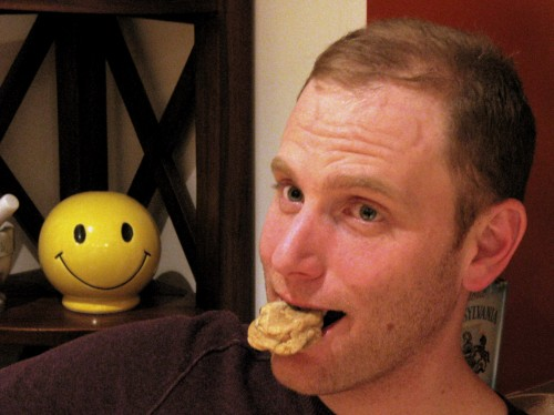 Eric and his cookie