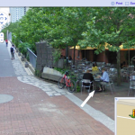 caught on street view