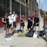 York St cleanup
