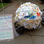 plastic bags on Earth Day