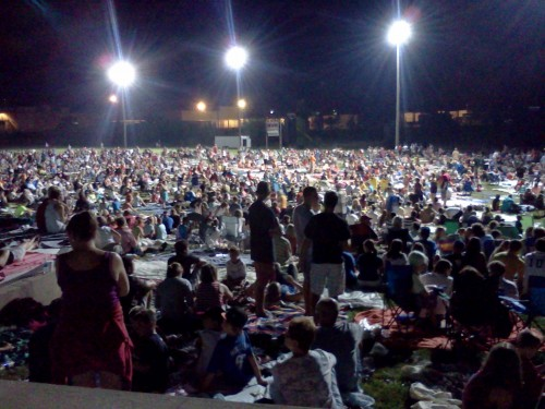 waiting for the fireworks