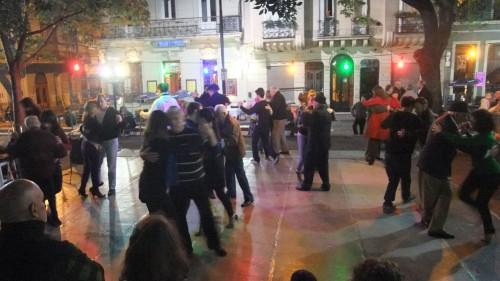 Tango at Plaza Dorrego