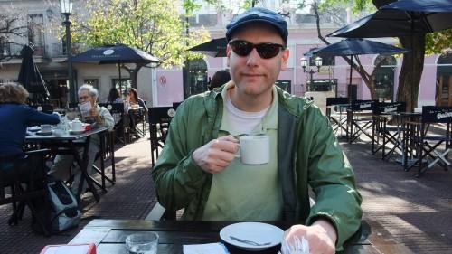Cafe Double at Plaza Dorrega