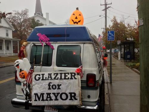 Glazier for Mayor