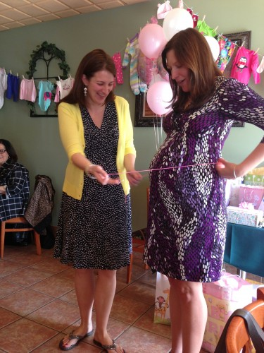 Superwoman's baby shower